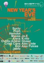 Revelion 2011 la Club Embryo din Bucureşti