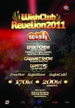 Revelion 2011 la Club Wish din Constanţa
