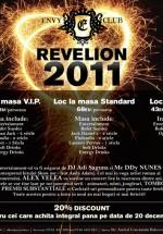 Revelion 2011 la Club Envy din Bucureşti