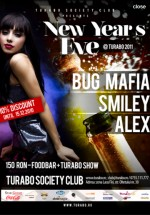 New Year's Eve la Turabo Society Club din Bucureşti