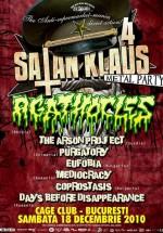 Satan Klaus 4 la Cage Club din Bucureşti
