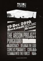 Concert The Arson Project la Rockstadt din Braşov