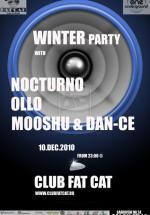 Winter Party la Fat Cat din Bucureşti