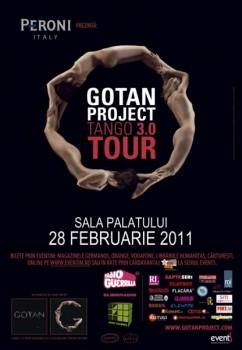 Concert Gotan Project la Bucureşti