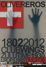 Concert Oliver la Wings Club din Bucureşti