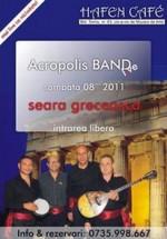 Concert Acropolis Band la Hafen Cafe din Constanţa