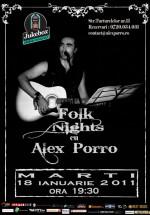 Concert Alex Porro la Club Jukebox din Bucureşti