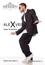 Concert Alex Velea la The Society Club din Piatra Neamţ