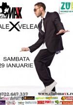 Concert Alex Velea la Club Maxx din Bucureşti