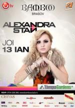 Concert Alexandra Stan la Club Bamboo din Braşov