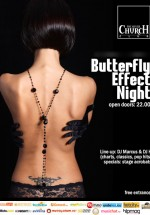 ButterflyEffect la The Silver Church din Bucureşti
