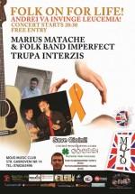 Concert Caritabil la Club Mojo-Brit Room din Bucureşti