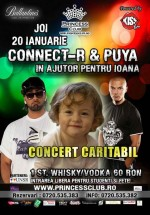 Concert Connect-R şi Puya la Princess Club din Bucureşti