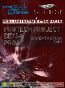 DJ Khrystyan's B-Day Party la Club Silver din Bucureşti