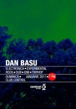 Dan Basu la Club Control din Bucureşti