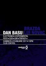 Dan Basu & Brazda lui Novac la Club Control din Bucureşti