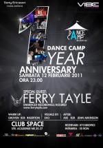 Dance Camp 1year anniversary la Space Club din Bucureşti