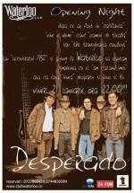 Concert Desperado în Club Waterloo din Cluj-Napoca