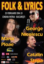 Folk & Lyrics Fest la Cinematograful Scala din Bucureşti