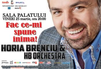 Concert Horia Brenciu & The HB Orchestra la Sala Palatului din Bucureşti