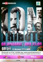 Ion Tribute în Club Elements din Bucureşti
