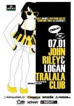 John Riley & Logan la Tralala Club din Bucureşti