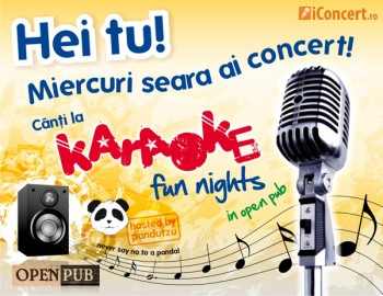 Karaoke în Open Pub din Bucureşti