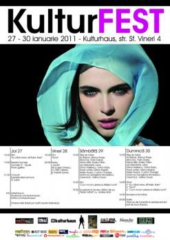 KulturFEST la Kulturhaus din Bucureşti