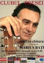 Concert Marius Batu la Clubul Presei din Iaşi