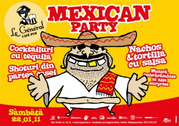 Mexican Party în Le General din Cluj-Napoca