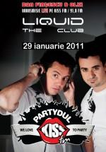 Partydul Kiss FM în Club Liquid din Sibiu