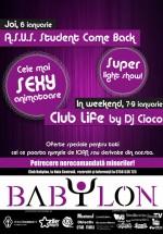 Petreceri la Club Babylon din Suceava