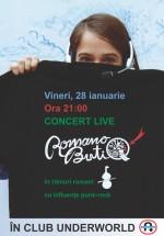 Concert Romano ButiQ în Club Underworld din Bucureşti