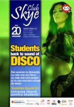 Students back to sound of Disco la Club Skye din Iaşi
