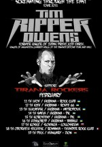 Concert Tim Ripper Owens la Club Thunder Rock din Odorheiu-Secuiesc