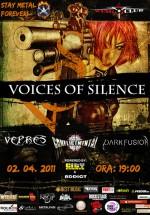 Concert Voices of Silence, Vepres, Conflict Mental şi Dark Fusion la Wings Club din Bucureşti