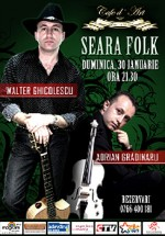 Concert Walter Ghicolescu & Adrian Grădinaru la Cafe D'art din Constanţa