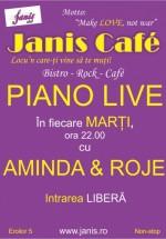 Piano Live la Janis Cafe din Cluj-Napoca