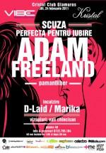 Adam Freeland în Kristal Glam Club din Bucureşti