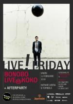 """""""Live Friday 16th Edition"""" la Base Cafe din Bucureşti"""