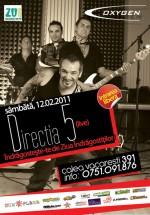 Concert Direcţia 5 în Club Oxygen din Bucureşti