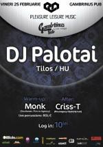 DJ Palotai în Gambrinus Pub din Cluj-Napoca – ANULAT