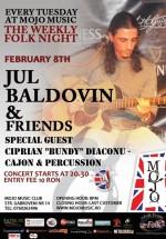 Jul Baldovin & Friends în Club Mojo-Brit Room din Bucureşti