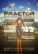 Lansare album Praetor în The Silver Church din Bucureşti