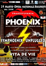 Symphoenix Unplugged la Opera Naţională din Bucureşti