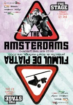Concert The Amsterdams în Club Stage din Bacău