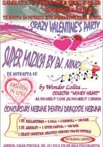 Crazy Valentine's Day în Daimon Club din Bucureşti