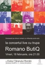 Concert Romano ButiQ în Clubul Ţăranului Român din Bucureşti