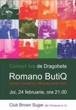 Concert Romano ButiQ de Dragobete în Brown Sugar din Bucureşti