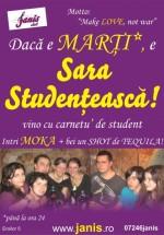 Sara Studenţească în Club Janis din Cluj-Napoca